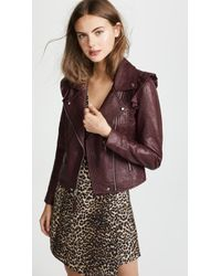 PAIGE - Annika Leather Jacket - Lyst
