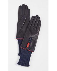 Agnelle Shannya Gloves - Blue