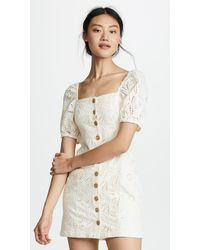 Free People - Danielle Mini Dress - Lyst