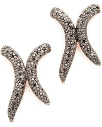 Maha Lozi   Xo Earrings   Lyst