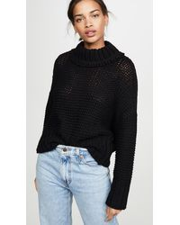 Free People My Only Sunshine Sweater - Black