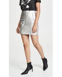 Current/Elliott - The Belen Skirt - Lyst