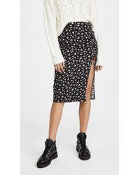 Reformation Prose Skirt - Black