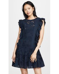 MISA Los Angles Marieta Dress - Blue