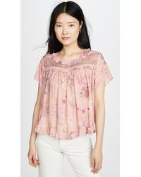 Spell & The Gypsy Collective Wild Bloom Top - Pink