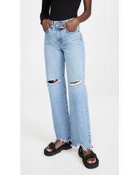 Nobody Denim Lou Jeans - Blue