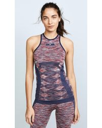 adidas By Stella McCartney - Yoga Seamless Tank - Lyst