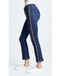 Veronica Beard Carolyn Baby Boot Jeans - Blue