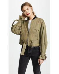 3.1 Phillip Lim - Quilted Jacket With Combo Sleeves - Lyst