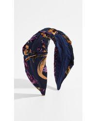 NAMJOSH - Floral Burnout Headband - Lyst