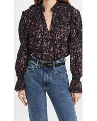 Free People Meant To Be Blouse - Black