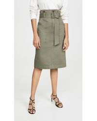 Edition10 Cargo Skirt - Green