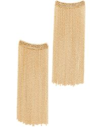 Rosantica Square Chain Dangle Earrings - Metallic