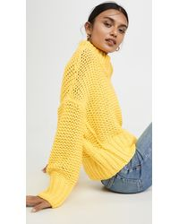 Free People My Only Sunshine Jumper - Yellow