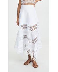 Charo Ruiz Benna Skirt - White