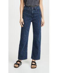 Rag & Bone - Ruth Super High-rise Straight Jeans - Lyst