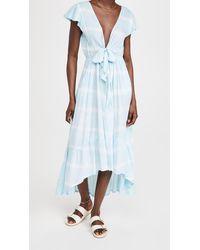 Tiare Hawaii Blake Maxi Dress - Blue