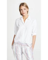 Xirena Jagger Button Down Shirt - White