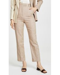 Acler Belvue Pants - Natural