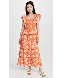 Saylor Linley Dress - Orange