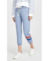 Sundry Cuff Sweatpants - Blue