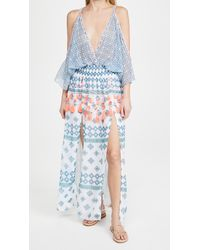 Ramy Brook Printed Kaya Dress - Blue