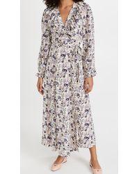 Endless Rose Wrap Style Maxi Dress - Natural
