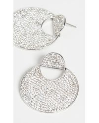 Kate Spade Pave Drop Earrings - Multicolour