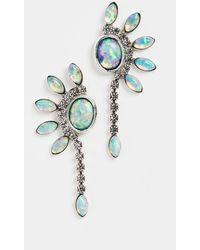 Lionette Tinka Petal Strand Earrings - Metallic