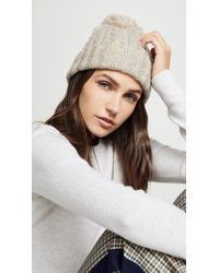 Hat Attack - Soft Cable Beanie Hat - Lyst