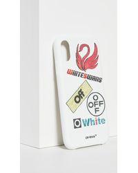 Off-White c/o Virgil Abloh White Swans Iphone Xr Case