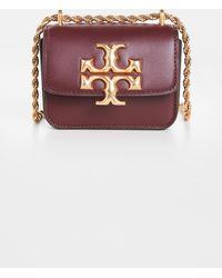 Tory Burch - Mini Eleanor Leather Shoulder Bag - Lyst
