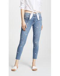 Joe's Jeans - Icon Cropped Skinny Jeans - Lyst
