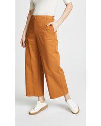 Jason Wu Stretch Twill Sailor Trousers - Multicolour