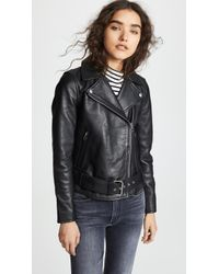 Madewell - Ultimate Leather Moto Jacket - Lyst