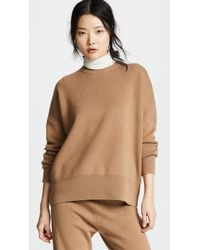 Theory - Relaxed Drop Shoulder Sweater - Lyst