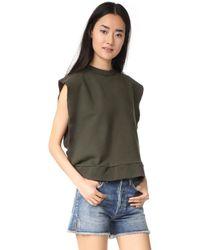 OAK - Sideless Pullover - Lyst