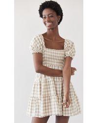 Peixoto Coco Dress - Natural