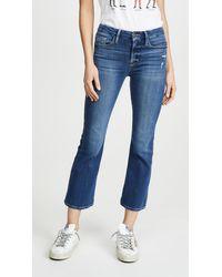 FRAME Le Crop Mini Boot Jeans - Blue