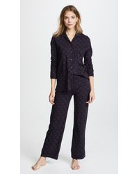 Only Hearts - Twin Hearts Piped Pyjamas - Lyst