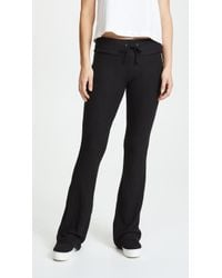 Wildfox Basic Flare Sweatpants - Black