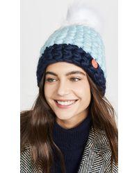 Mischa Lampert Deep Dot Hat - Blue
