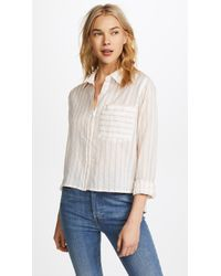 Current/Elliott - Georgia Shirt - Lyst