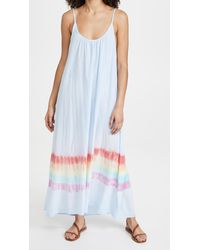9seed Tulum Tie Dye Dress - Multicolour
