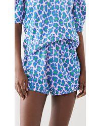 Clare V. Sweat Shorts - Blue
