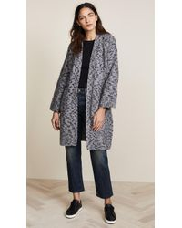 Vince - Textured Cardigan - Lyst