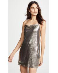 Alice + Olivia - Harmony Chainmail Dress - Lyst