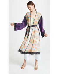 Elizabeth and James - Shawna Silk Kimono - Lyst