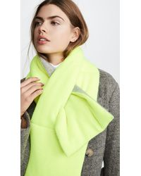 White + Warren Padded Cashmere Scarf - Multicolor
