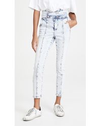 Blank NYC Fame Game High Wasted Jeans - Blue